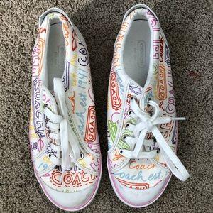 Women's/Girl's Coach sneakers